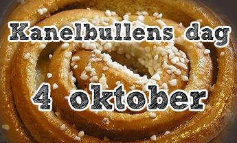 Kanelbullensdag 4 oktober
